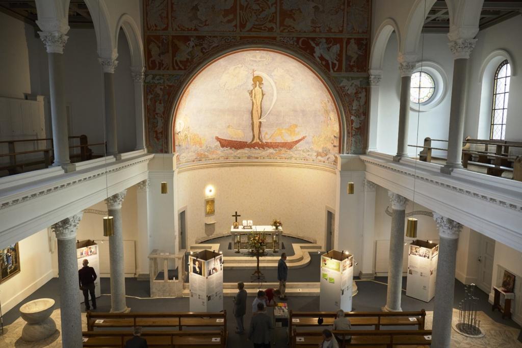 Vernissage in der Christuskirche Luzern