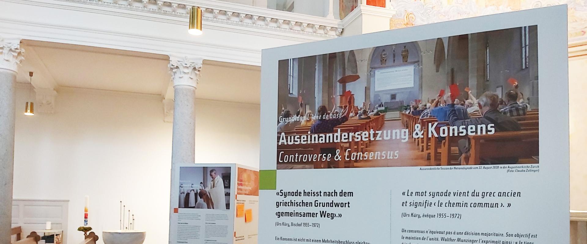 Wanderausstellung in der Christkuskirche Luzern