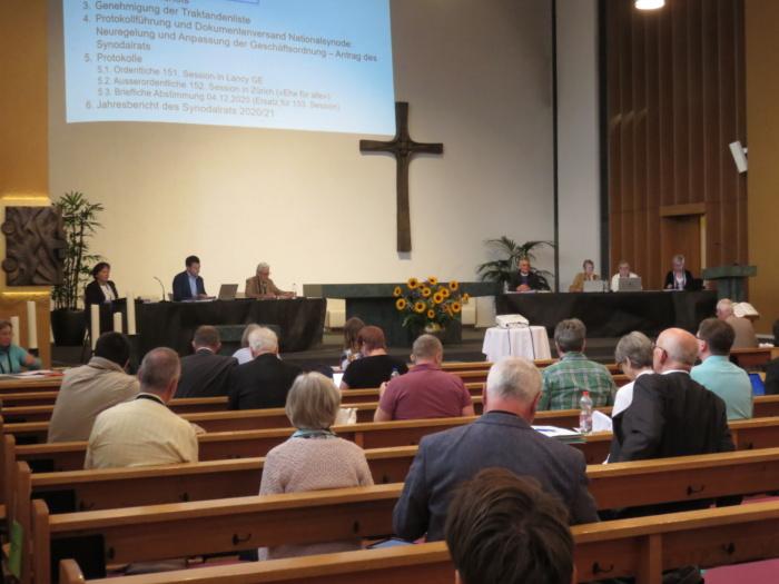Ehe für alle an der Nationalsynode in Thun